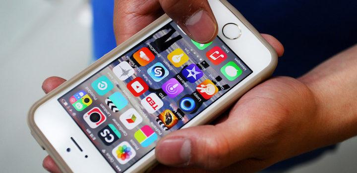 appli sur iOS